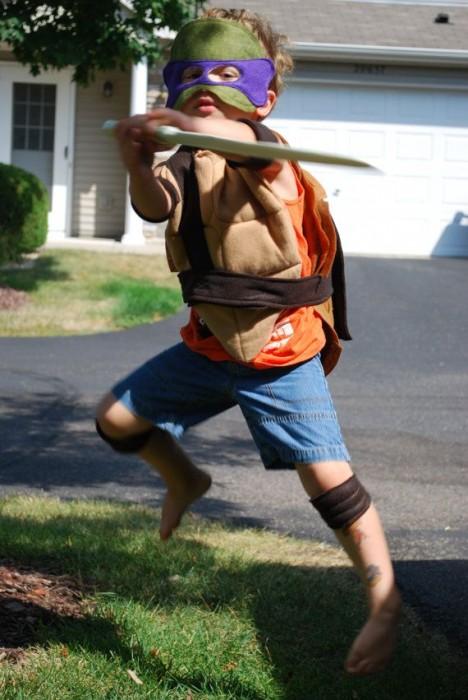 CHILD Teenage Mutant Ninja Turtle Costume