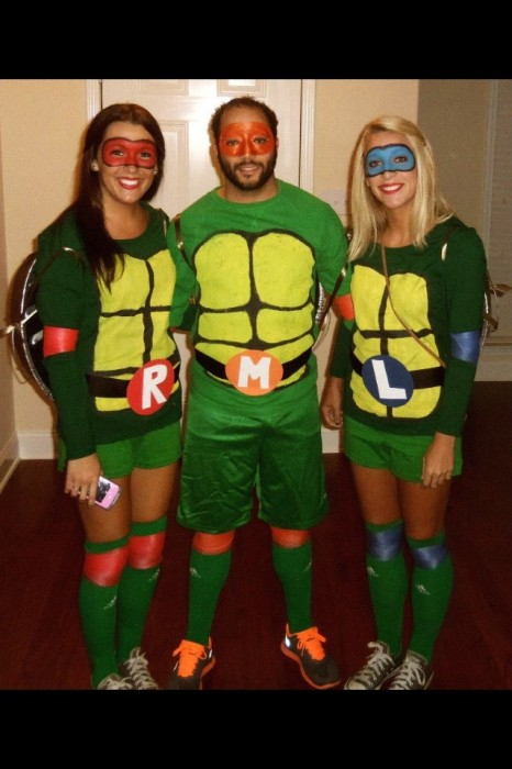 DIY Ninja Turtle Costumes for under $30