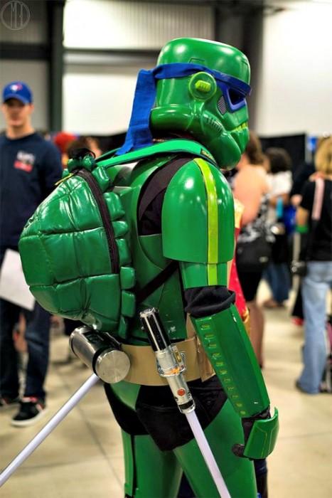 DIY Teenage Mutant Ninja Stormtrooper Costume