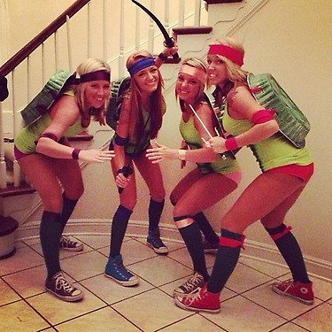 I am going to be a ninja turtle this year
