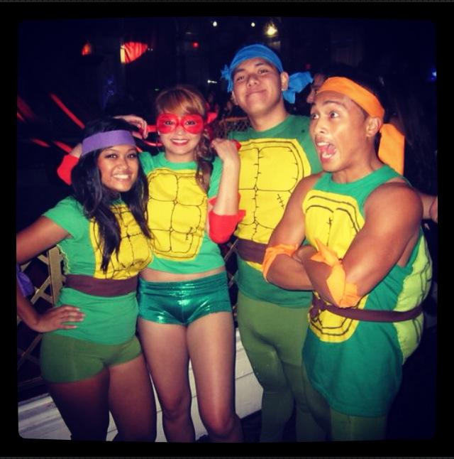 Teenage Mutant Ninja Turtles Group Costume 2