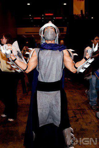 shredder cosplay costume