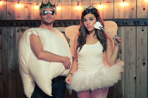 tooth and tooth fairy couples costume halloween