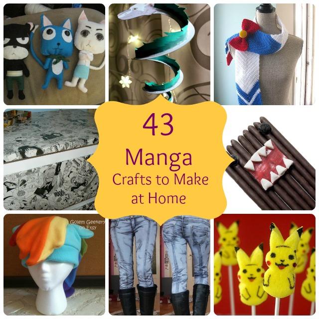 43-manga crafts make home