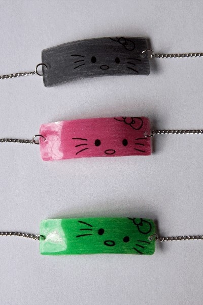 Hello Kitty Shrinky-Dink Bracelet