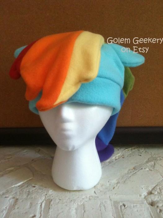 Rainbow Dash Fleece Hat