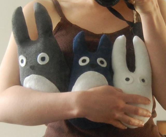 Totoro manga doll