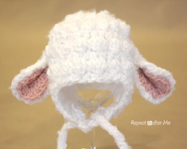 Lamb Hat Repeat Crafter Me