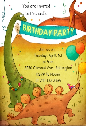 pDinosaurs-birthday-party greetingsisland