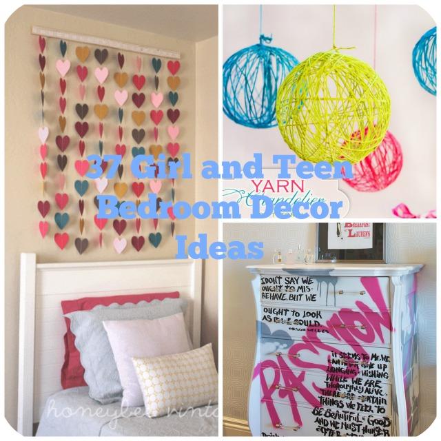 37 Girl Teen Bedroom Decor ideas