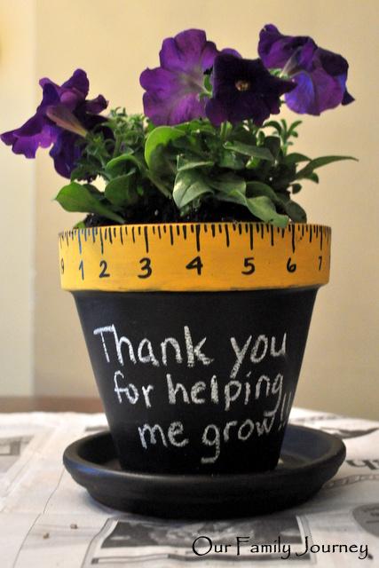 Teacher Thank You Flowerpot