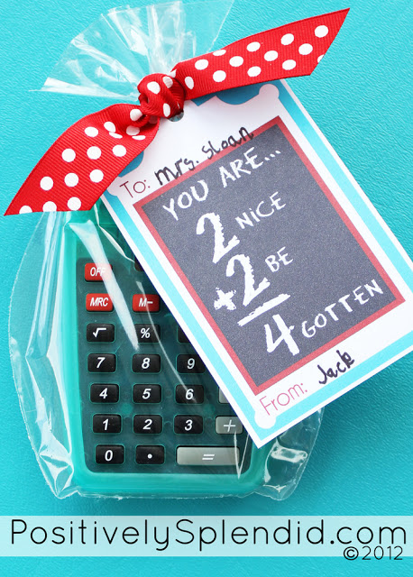 teacher appreciation calculator gift 2