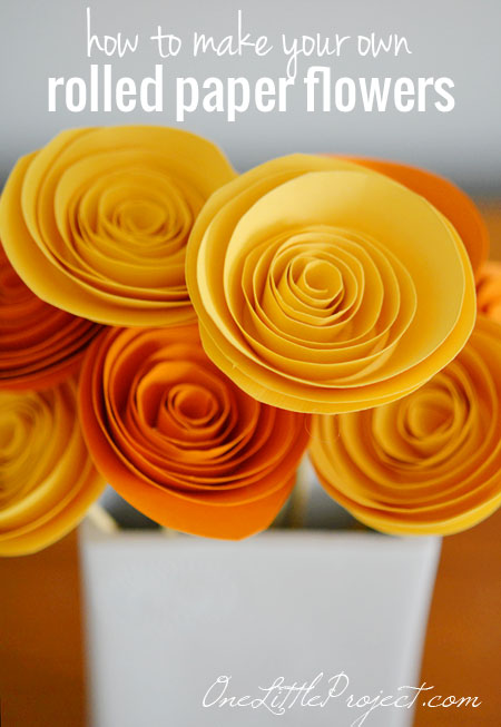 Rolled-paper-flowers