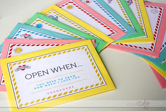 Becca-OpenWhen-Envelopes