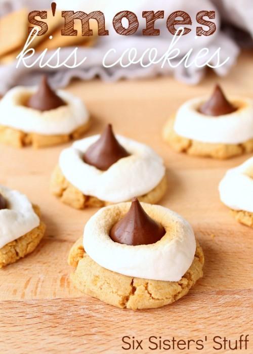 smores-hersheys-kiss-cookies-recipe