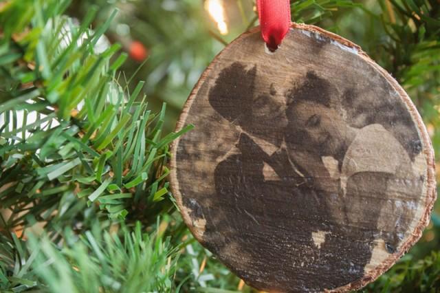 DIY Wood Transfer Ornament