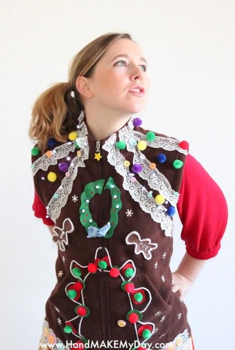 Gingerbread Vest