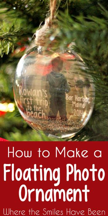 Make a Floating Photo Ornament