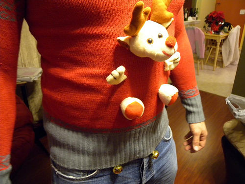 Make any sweater an ugly Christmas sweater