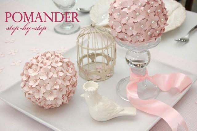 How to Make a Pomander Flower Ball
