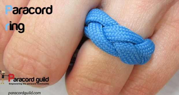 How to make a paracord ring from ParacordGuild