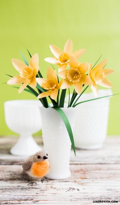 Paper Flower Daffodil