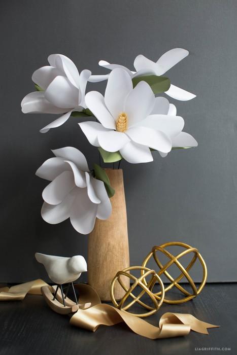 Paper_Magnolia_Flower_DIY