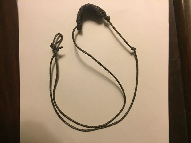 Paracord Rock Sling from Instructables
