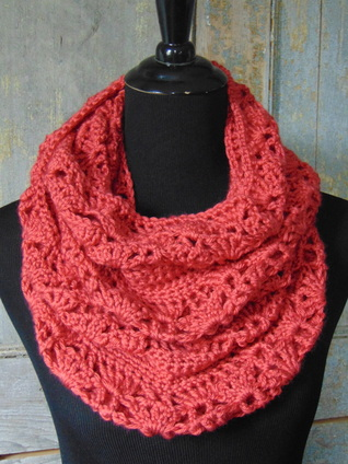 Rouge Infinity Scarf