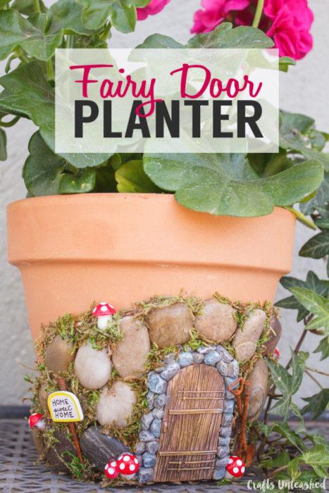Fairy Door Planter