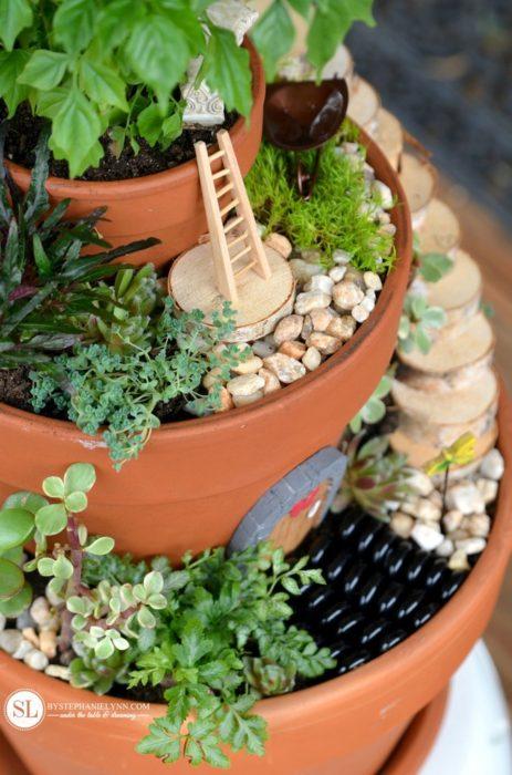 Flower Pot Fairy Garden
