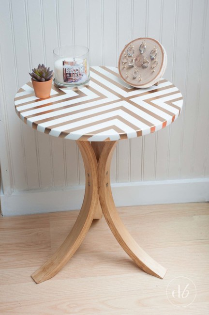 IKEA Side Table Makeover
