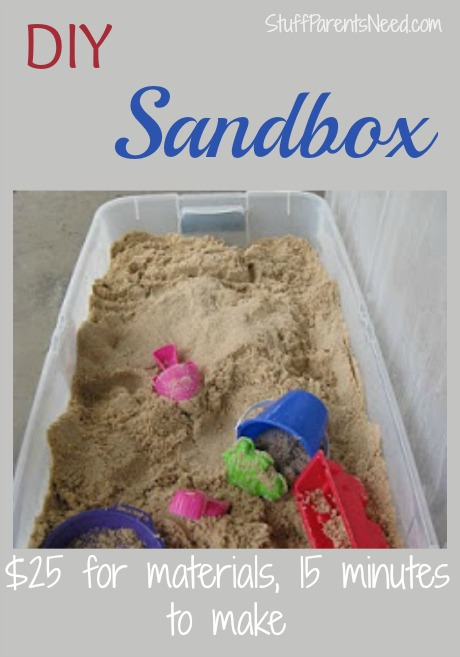 DIY Sandbox for Under 25 dollars