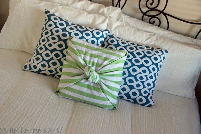 No Sew Pillow Case DIY