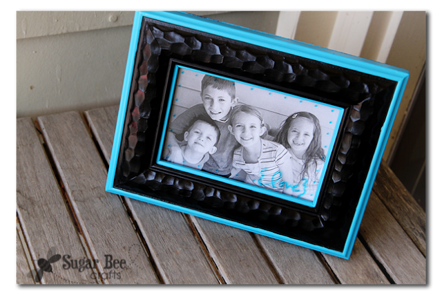 Painted Frame Mothers Day Craft