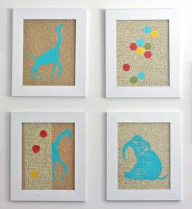 animal-wall-art-for-baby-nursery