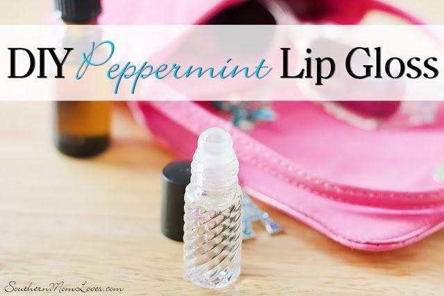 DIY Peppermint Lip Gloss
