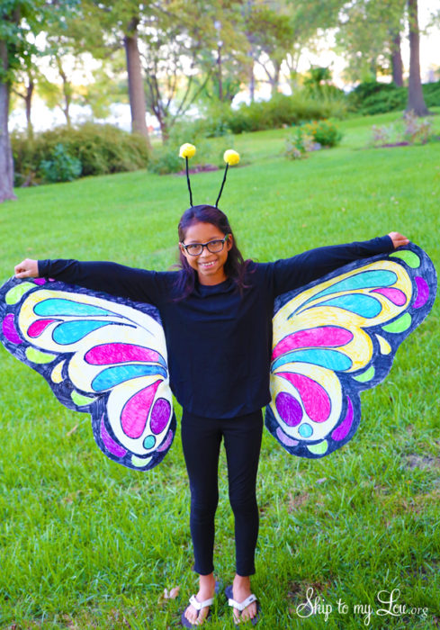 Easy Butterfly Costume