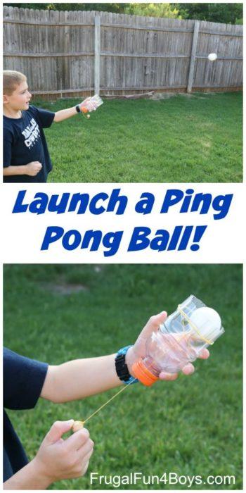 Fabriquez un lanceur de balle de ping-pong
