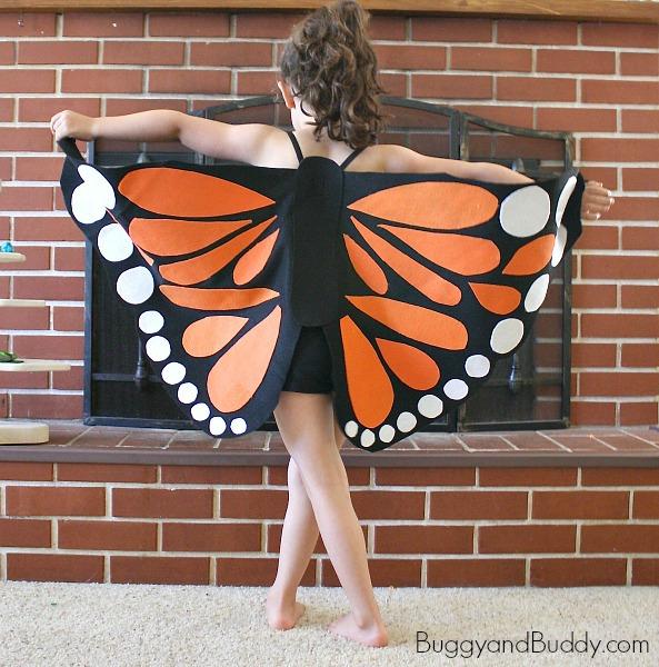Monarch Butterfly Wings Tutorial