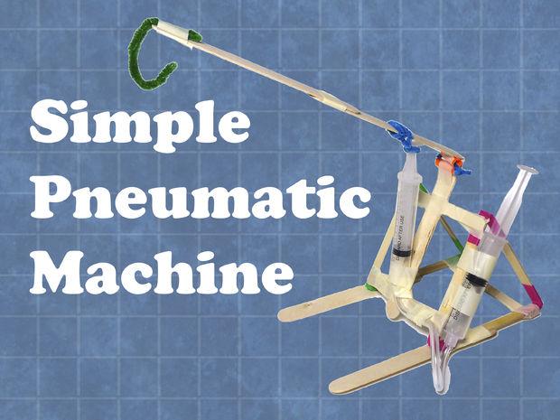 Machine pneumatique simple