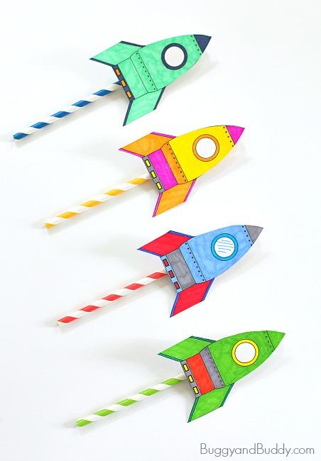 Fusées en paille