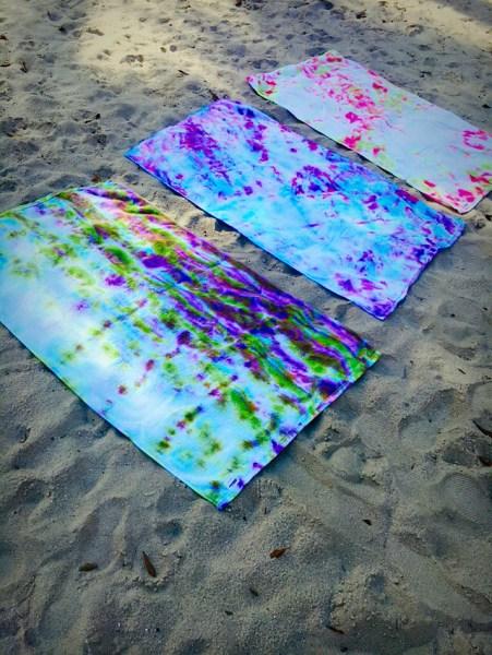 Tie Dye Beach Towels