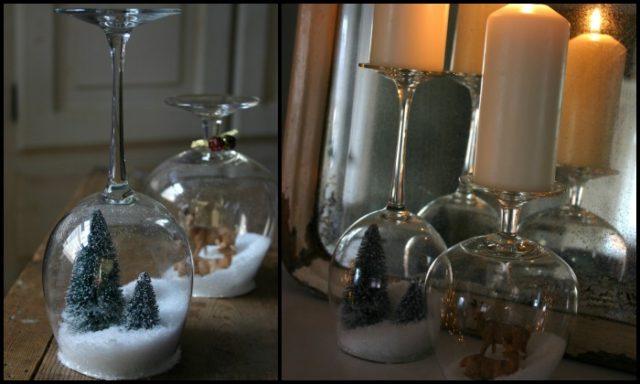 Wine Glass Show Globes