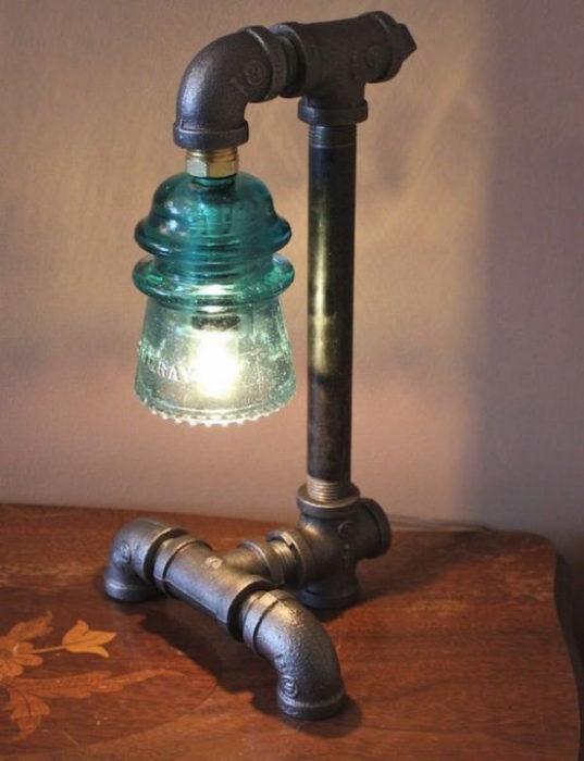 DIY Industrial Pipe Lamp