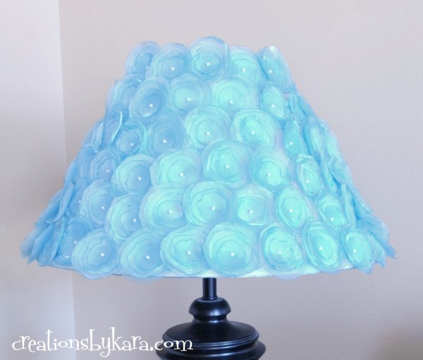 flower-lampshade