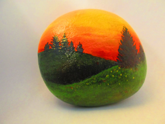 painted-rock-sunset