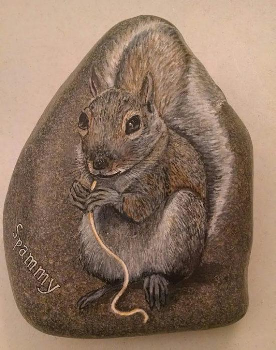 squirrle-wildlife-art