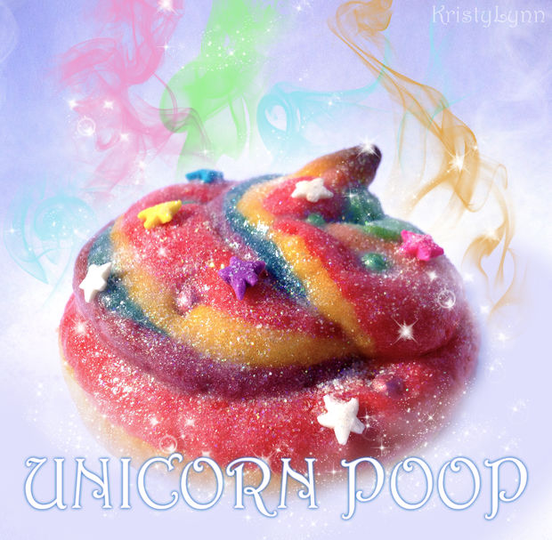 unicorn poop cookies