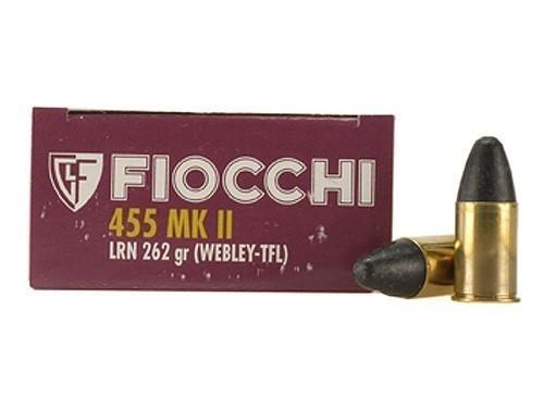 Fiocchi 455 Webley-455 MKII (50 round box)
